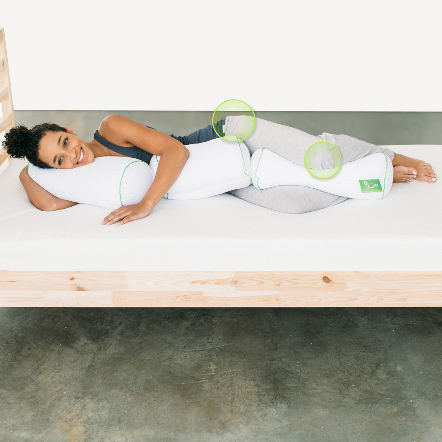 Multi-Position Body Pillow (Single) - Sleep Yoga - Touch of Modern
