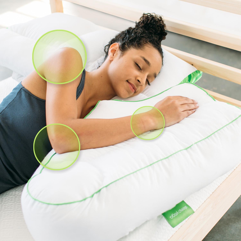 Sleep Yoga Posture Pillow Collection Set Of 4 Sleep