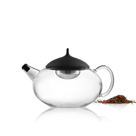 Glass Teapot + Tea Egg