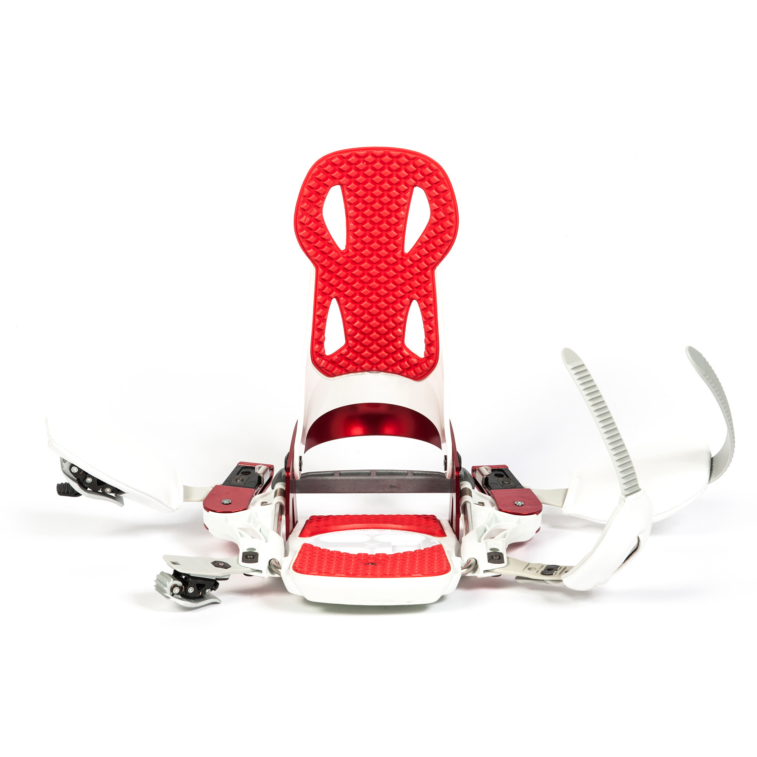 Launch TM Beyond Series Snowboard Binding // White + Red