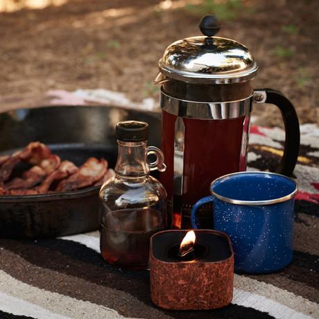 Cowboy Breakfast // Coffee + Bacon + Maple Syrup