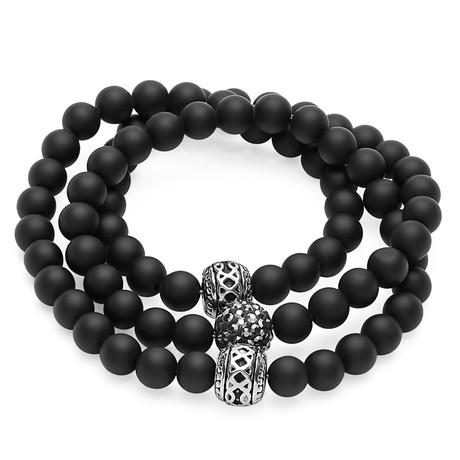 Stainless Steel Bracelet // Black