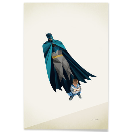 "Little Bruce (16""W x 24""H x .045""D // Aluminum Print)"
