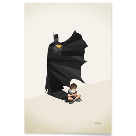 """Gotham Shadows (16""""W x 24""""H x .045""""D // Aluminum Print)"""