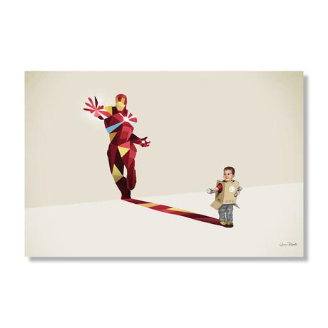 """Tony Junior (24""""W x 16""""H x .045""""D // Aluminum Print)"""