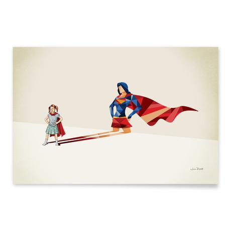"Walking Shadow, Heroine (24""W x 16""H x .045""D // Aluminum Print)"
