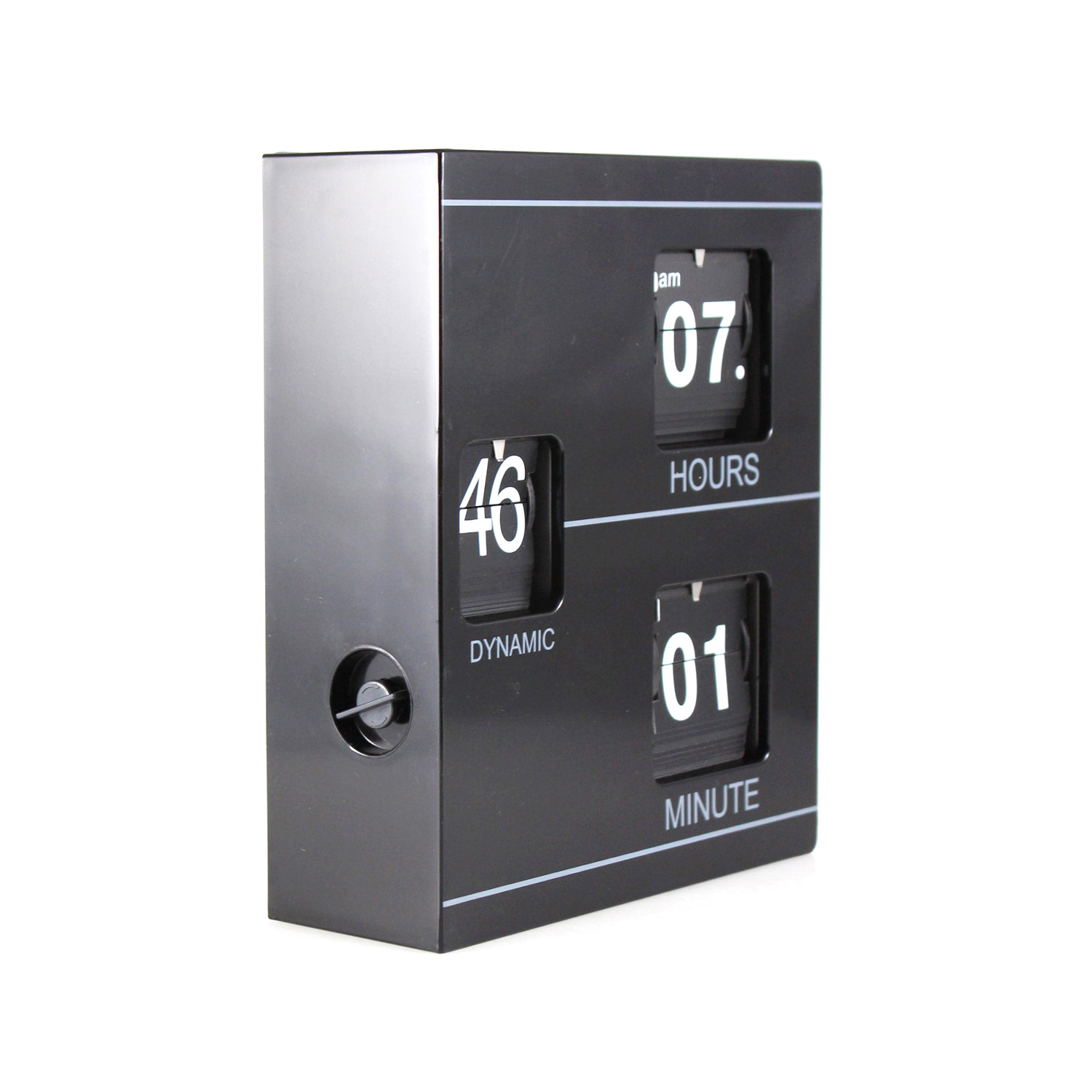 Booklet clock white innostyles clocks touch of modern for Touch of modern clock
