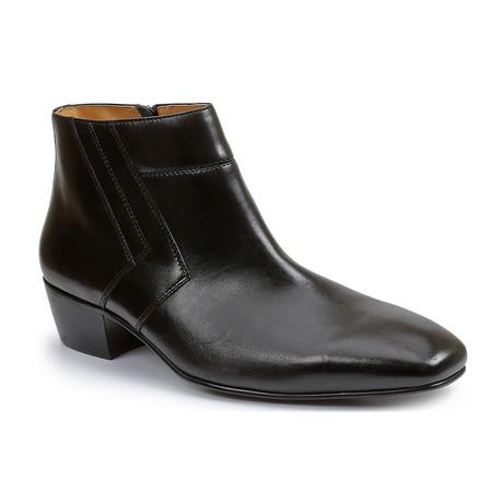 Blackjack Plain Toe Demi-Boot // Black (US: 7)