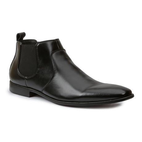 Aaron Leather Slip-On Boot // Black (US: 7)