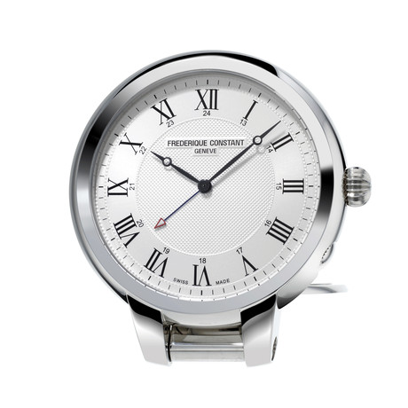 Frederique Constant Travel Clock Alarm Quartz // FC-209MC5TC6