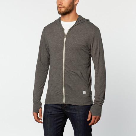 Full zip tee hoodie grey s mercedes benz clothing for Mercedes benz hoodie