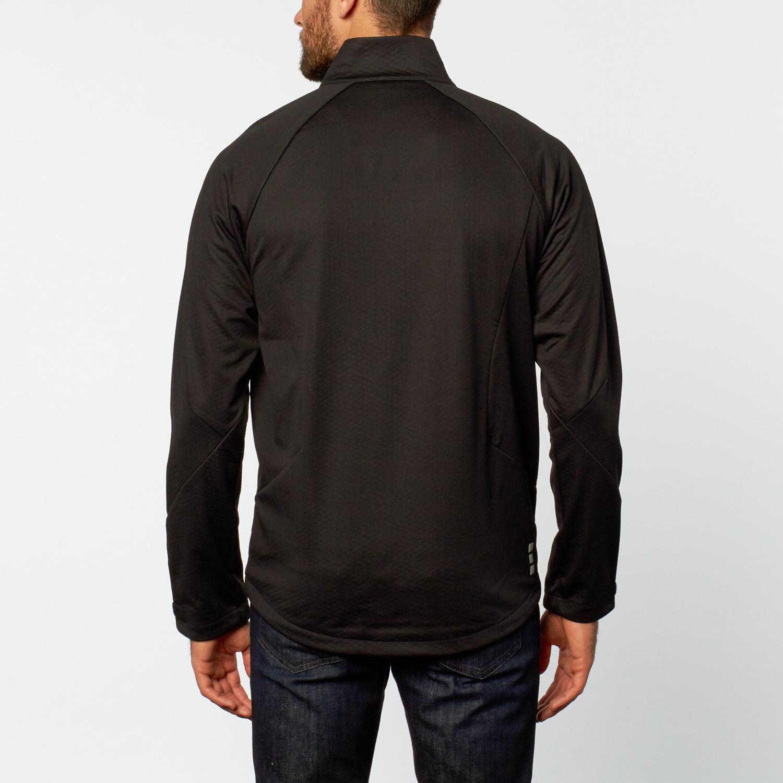 Contrast soft shell jacket black s mercedes benz for Mercedes benz women s jacket