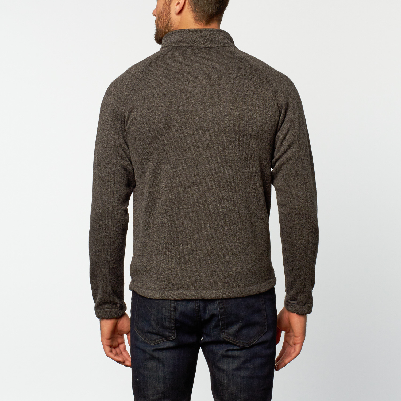 knit fleece sweater black s mercedes benz clothing. Black Bedroom Furniture Sets. Home Design Ideas