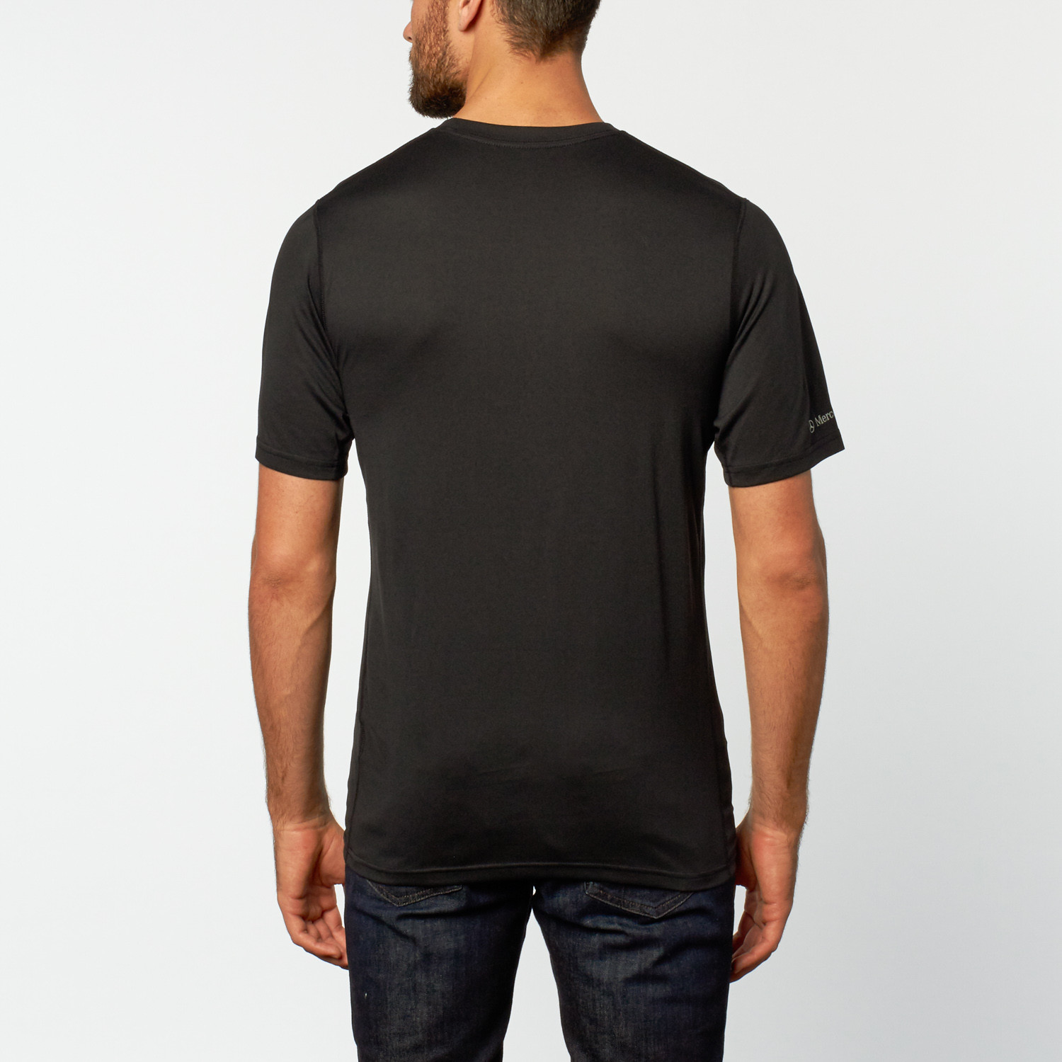 Nike performance training tee black s mercedes benz for Mercedes benz wear