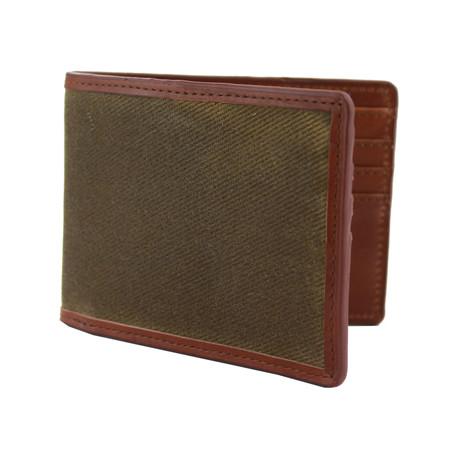 Langdale Bi-Fold Wallet // Olive