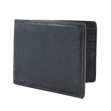 Langdale Bi-Fold Wallet // Dark Carbon