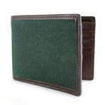 Langdale Bi-Fold Wallet // Green