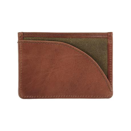 Langdale Card Holder // Olive