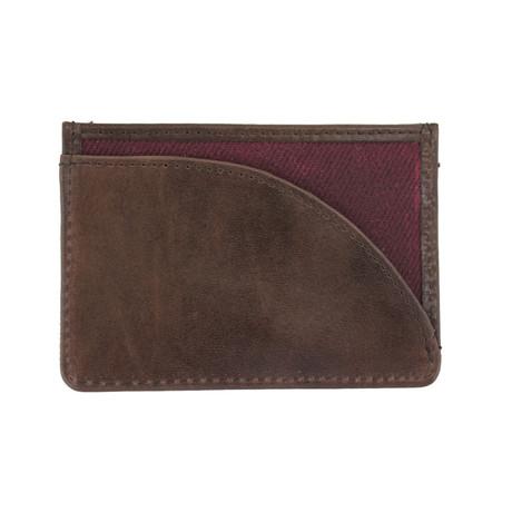 Langdale Card Holder // Dark Port