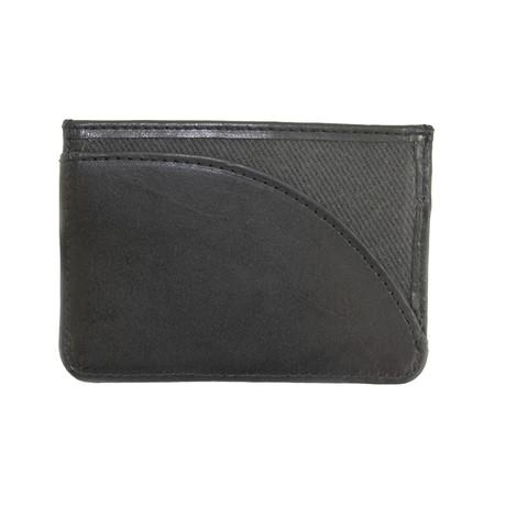 Langdale Card Holder // Dark Carbon