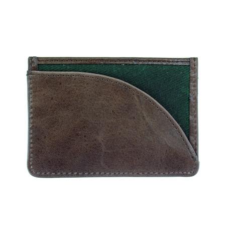 Langdale Card Holder // Green