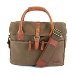 Langdale Briefcase // Olive