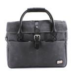 Langdale Briefcase // Dark Carbon