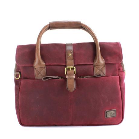 Langdale Briefcase // Dark Port