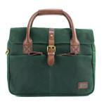 Langdale Briefcase // Green