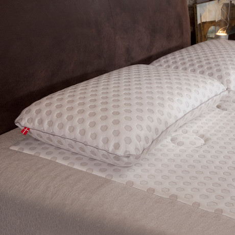 Cool Pointe // Latex Pillow + Cooling Fabric