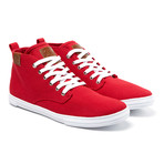 Leon Sneaker // Red (US: 10.5)