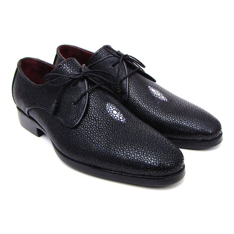 Genuine Stingray Goodyear Welted Derby // Black (Euro: 38)