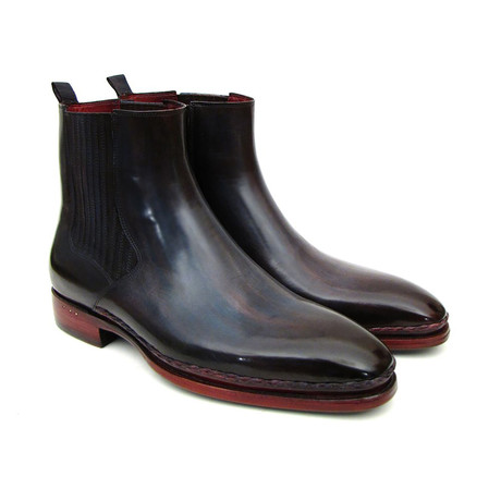 Chelsea Boot // Navy + Bordeaux (Euro: 37)