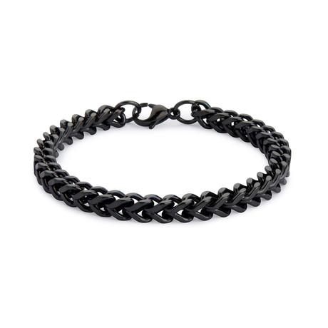 Armour Steel Bracelet // Black