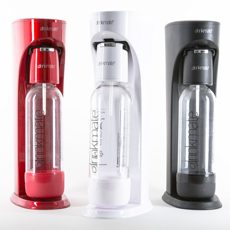 Drinkmate + 3 Ounce Cylinder (White)