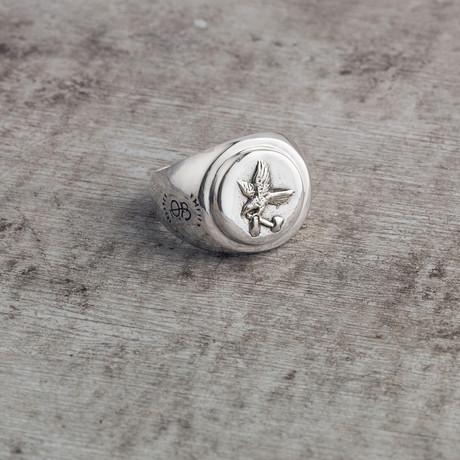 Lumberman's Signet Ring // Silver