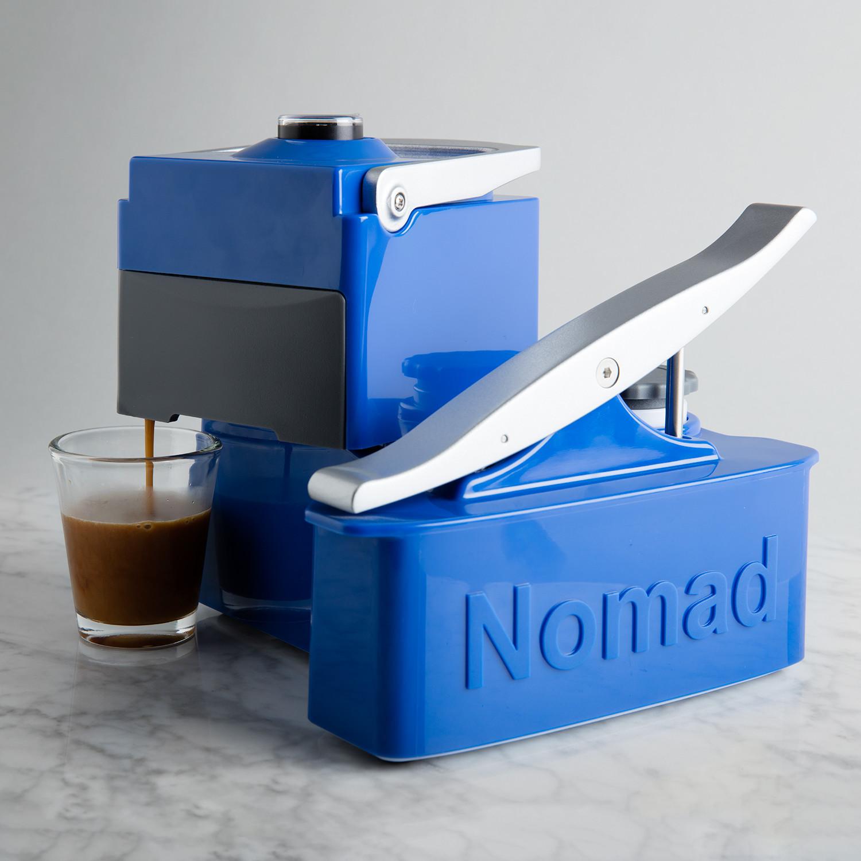 Touch Of Modern Espresso Maker ~ Nomad espresso machine blue uniterra touch of modern