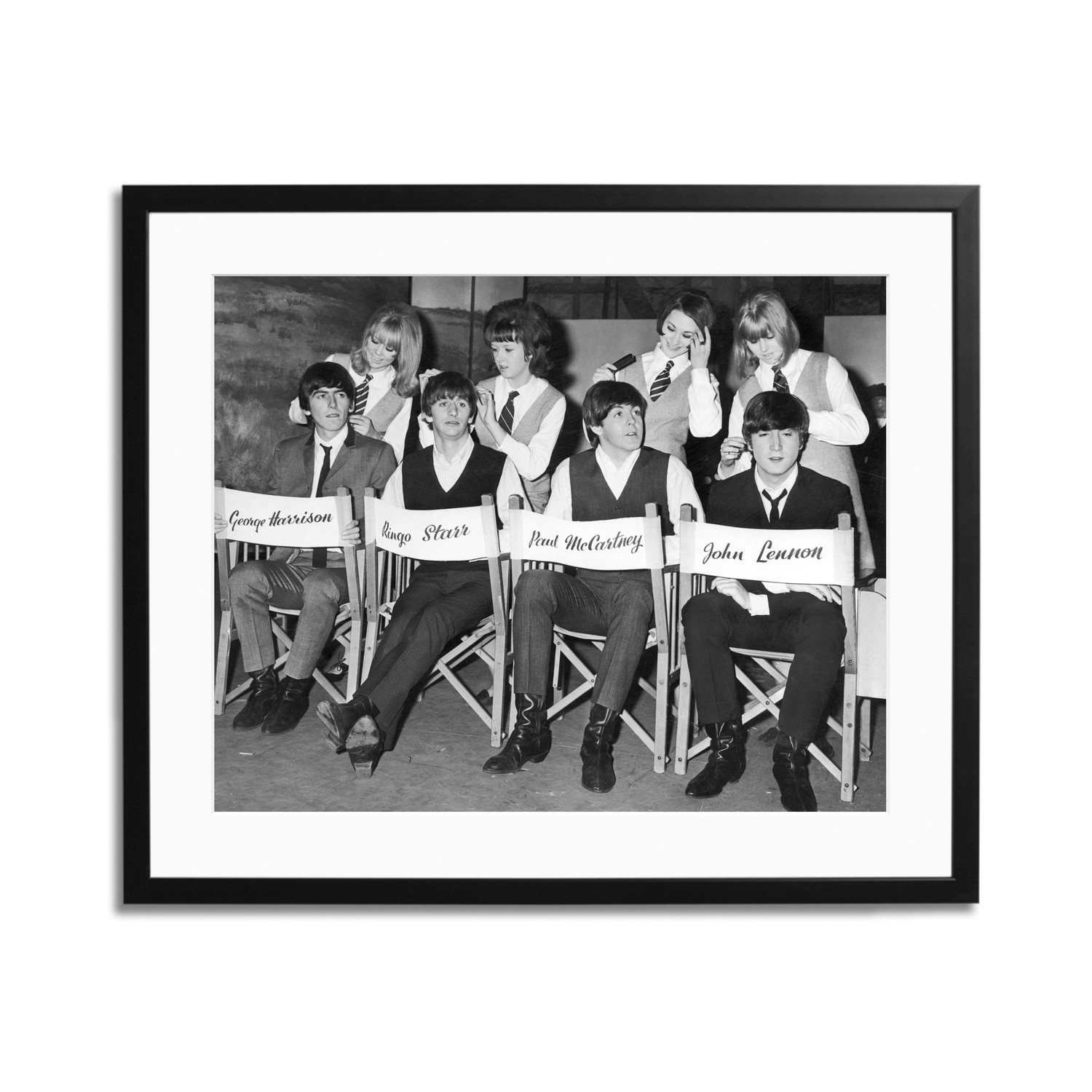 Fabulous Beatles Hair Styling 24L X 20H Celebrities Touch Of Unemploymentrelief Wooden Chair Designs For Living Room Unemploymentrelieforg