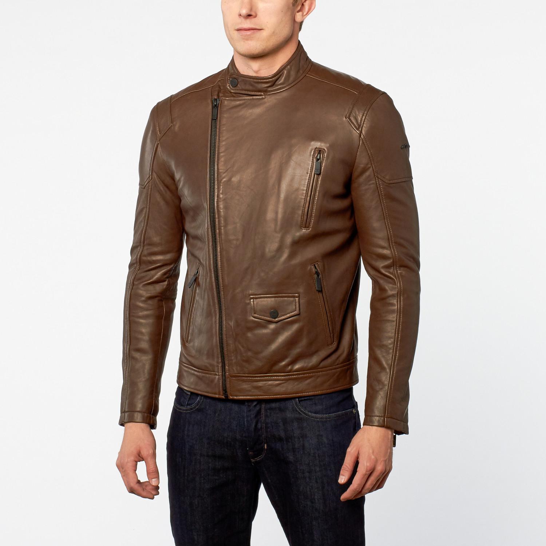 English leather jacket