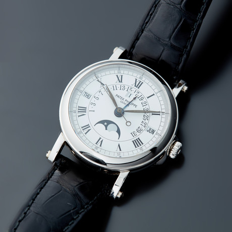 Patek Philippe Perpetual Calendar Retrograde Automatic // 5059G // Pre-Owned