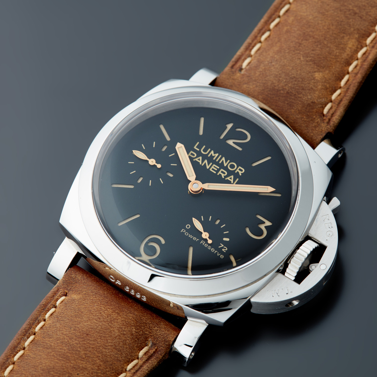 Panerai Luminor 1950 3 Days Power Reserve Acciaio // PAM 423 // 100020