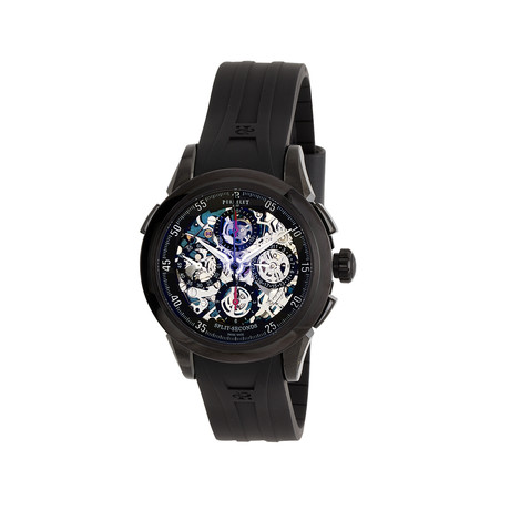 Perrelet Skeleton Split Second Automatic Chronograph Automatic // A1045-3A // New