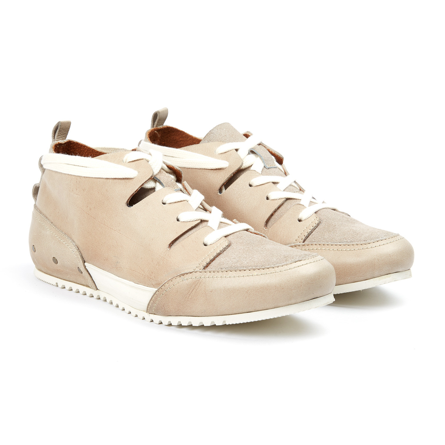 f163c2855ddebc Champs Leather Sneaker    Beige (US  7) - MCNDO - Touch of Modern