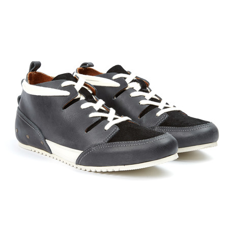 Champs Leather Sneaker // Black