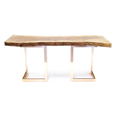 Nashif Custom Designs Exotic Slab Furniture Touch Of