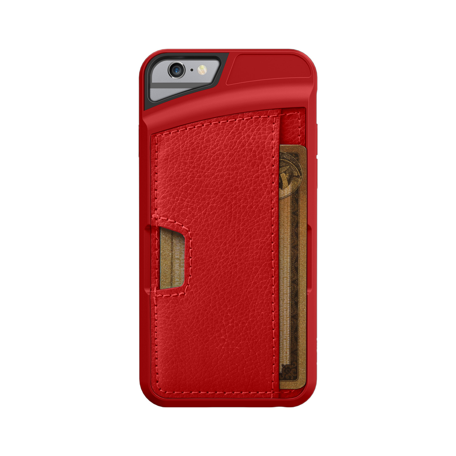 q card case red rouge iphone 6 6s cm4 touch of modern. Black Bedroom Furniture Sets. Home Design Ideas