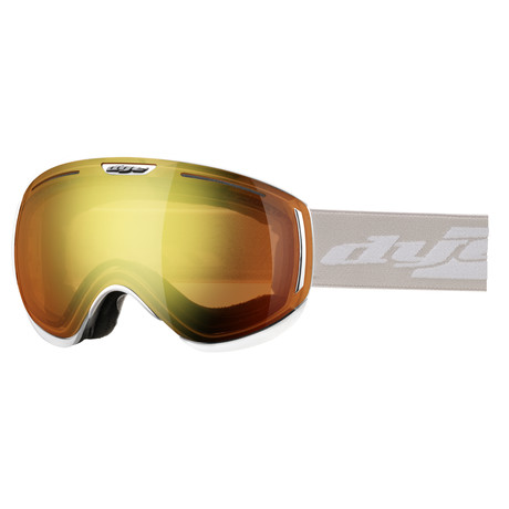 CLK Snow Goggle // White // 2 Lens Pack