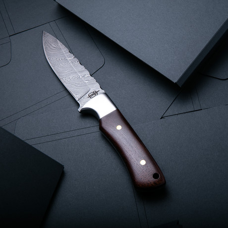 Hunting Knife // Walnut
