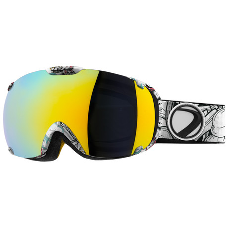T1 Snow Goggle // Steamboat // 2 Lens Pack