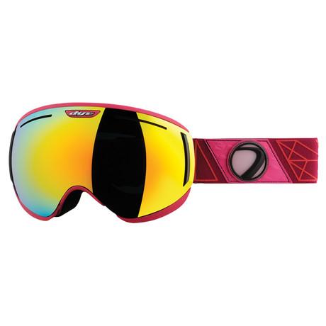 CLK Snow Goggle // Sirmiq Magenta // 2 Lens Pack
